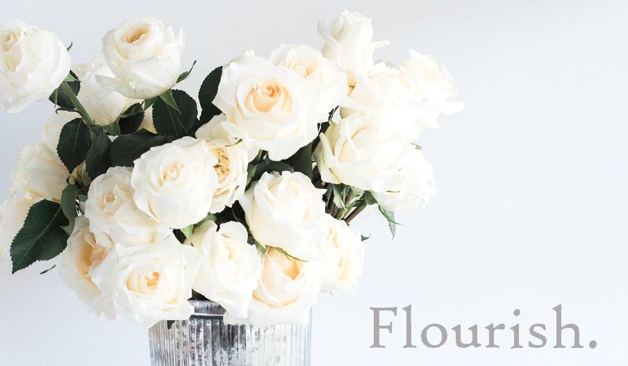 Flourish.